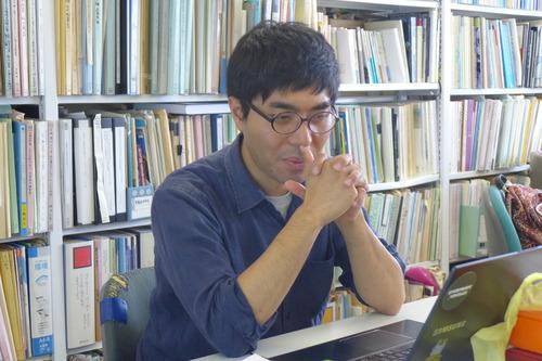 2018年7月24日(火)ふ印ラボの定例ゼミに韓国・済州島で実践的創造都市研究を進める張慶彬くんが戻って発表!