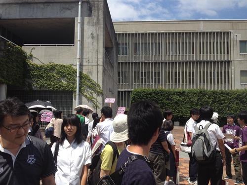 九州大学部芸術工学部オープンキャンパス