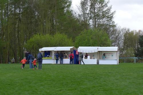 ベルリン東郊のマルツアーン( Marzahn)の世界公園にて IGA開催!