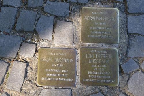 ふ印ボスのドイツまち歩き便り 虐殺された人々への小さな気づきを促す「躓きの石」プロジェクト