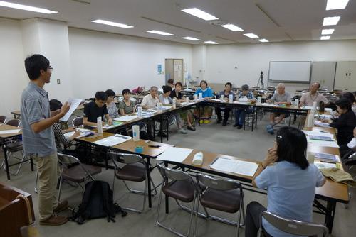 尹東柱の詩を読み継ぐ2015 第2回実行委員会が開催されました!2014年8月2日(土)夜6時〜9時 福岡市中央市民センター会議室