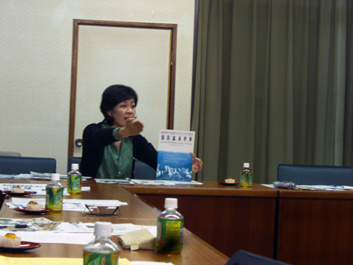 日田プラザで別府現代芸術フェスティバル2009の主催者BEPPU PROJECT事務局長安部純子さんに御講演いただきました!