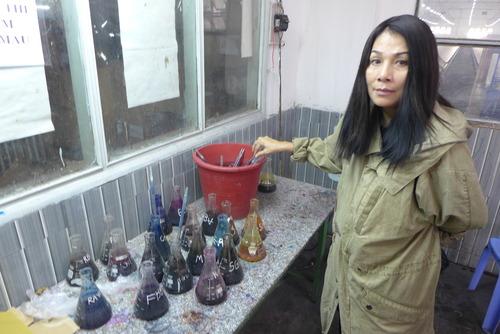 Minh Hanh女史と歩く〜ベトナム随一のBao Locシルク布は手仕事と機械の妙なる共創から!