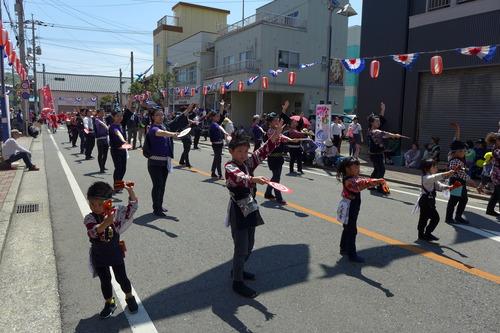 20190421丸尾會、いよいよ最後の道中総踊り!第48回牛深ハイヤ祭りフィナーレへ!!
