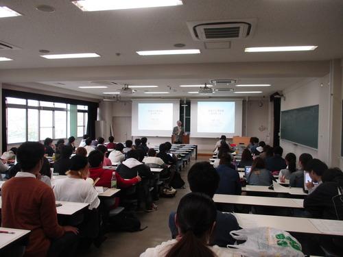 平成28年度「芸術文化環境論」開講!2016.4.18(月)