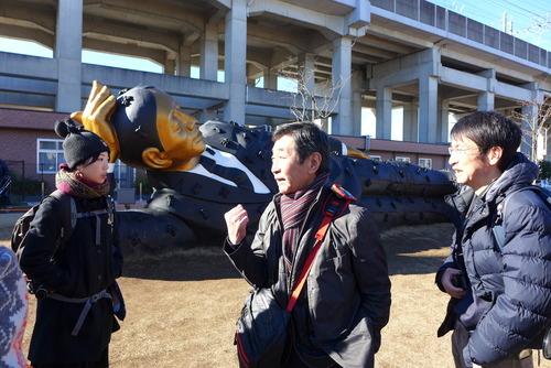 さいたまトリエンナーレ、12月11日(日)で閉幕!ディレクター芹沢高志さんと歩きました。