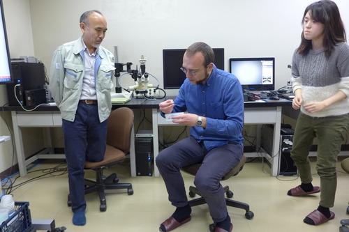 ドイツ・ベルリン自由大学研究員・名古屋大学准教授のLeipe博士、福岡市埋蔵文化センター訪問調査へ