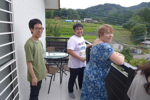 宮崎県・高千穂フィールドワークを実施しました。その4吉村ヴィクトリア先生の正念寺でウェルカム「テンプルステイ」!