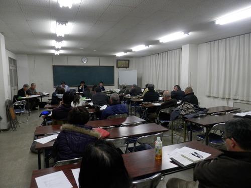 菊池市の図書館を考える市民の会定例会に参加して来ました。2014.12.24