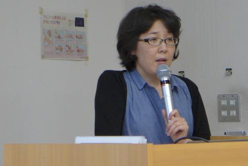 2015年7月6日(月)芸術文化環境論のゲスト講師はタカクラタカコさん。