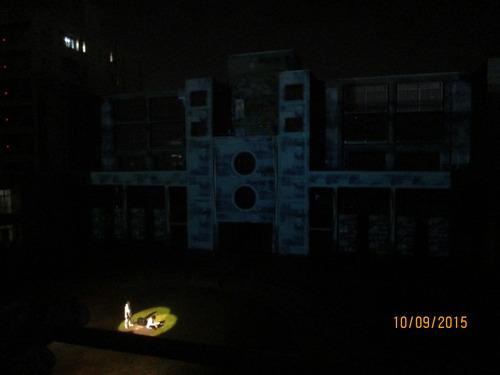 プロジェクションマッピング×演劇「IRIS」2015.10.9(金)