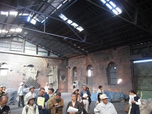 旧日本窒素肥料株式会社水俣工場の見学会に参加してきました。2015.11.3(火)