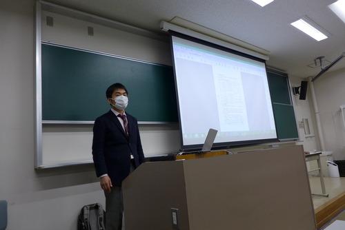 松内紀之氏、博士論文公開発表会を開催しました!