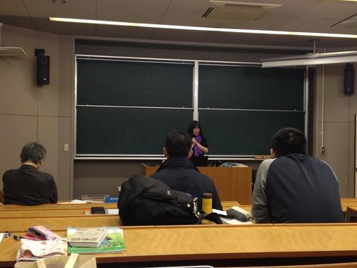 2013.12.12 大学院授業 稲葉信子先生による「国際文化遺産保護法」