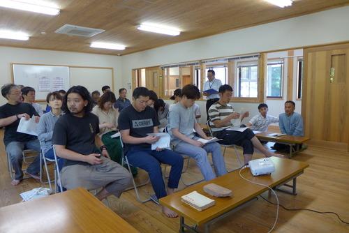 小鹿田焼技術保存会招聘による講演会で「自然・民陶・生業〜すこやかな美を守る小鹿田焼技術保存会(重要無形文化財保持団体)の今後へ向けて〜」をお話しました。