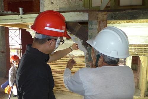 台湾・台北市に遺る近代建築群、日本建築学会歴史意匠委員会近代建築小委員会の現地踏査を実施。