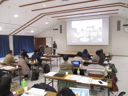 日本アートマネジメント学会九州部会・文化経済学会<日本>九州部会連携による研究発表会で発表してきました。まちあるきも。2018.3.10