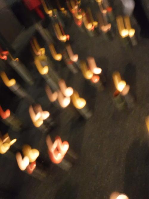 山鹿市の豊前街道、竹明かりの宵祭り!