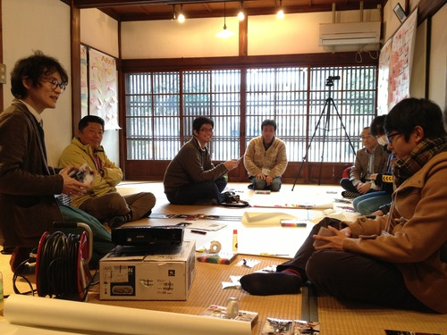 2014.1.25-26 第3回菊池域学連携事業 「まちを繕うワークショップ」を開催しました
