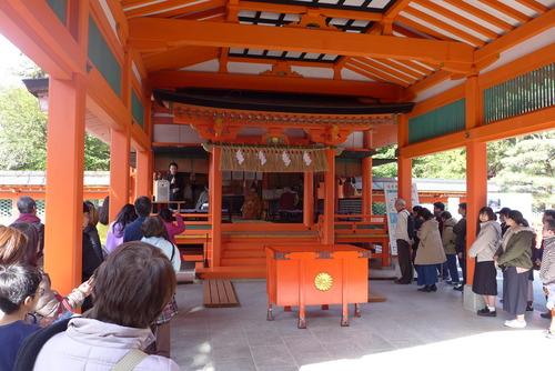 香椎宮にて藤枝守先生の音世界「とこしえの杜〜神社と地域共生〜」
