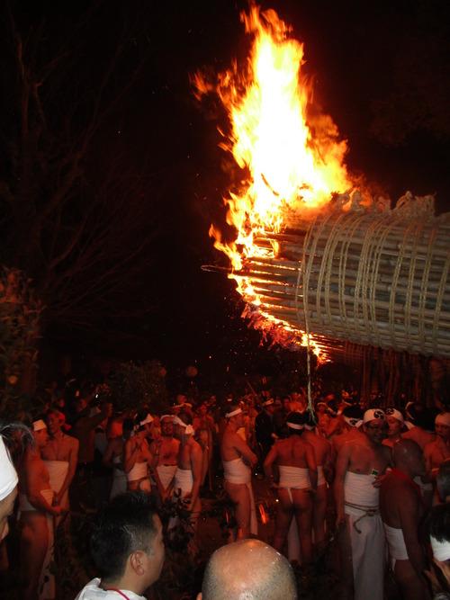 国指定重要無形民俗文化財の鬼夜を見てきました。2016.1.7(木)