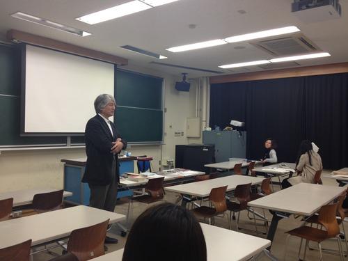 藤原恵洋研究室の基幹授業!2012.4.13. 大学院授業 [芸術・文化環境論] が始まりました