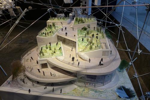 必見!乃木坂のTOTOギャラリー間では平田晃久建築展開催中!