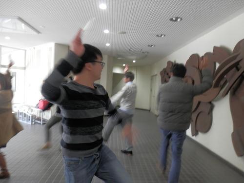 本日も舞う!!牛深ハイヤ祭の踊り特訓-第2回目レッスン2015.3.10