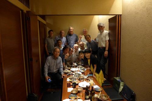 45年前に出会った九州大学軟式庭球部の仲間たちと再会、同期会に参加しました!