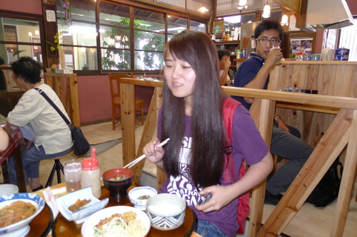 菊池レトロ館のレトロ食堂で美味しくて健康食ランチを!