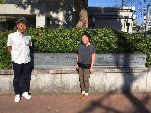 安田琢氏が藤原恵洋研究室の学生室を訪れて下さいました!!2017年5月18日(木)