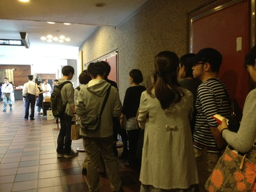 2012.5.20[日] 福岡市美術館 村上隆氏の講演会に参加しましたpart1