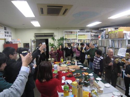 ふ印ラボ2012年師走「望年会」大盛況!多くのかたがたにお集まりいただき、ありがとうございました!!