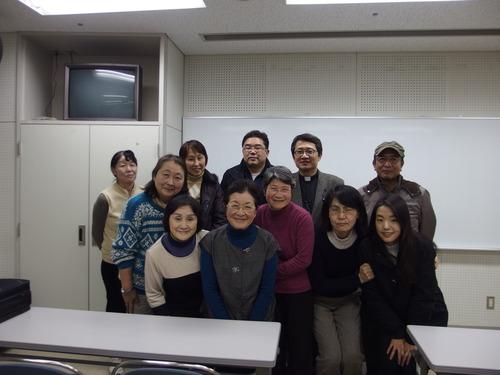 2015年1月31日(土)第13回尹東柱の詩を読み継ぐ2015実行委員会を開きました。