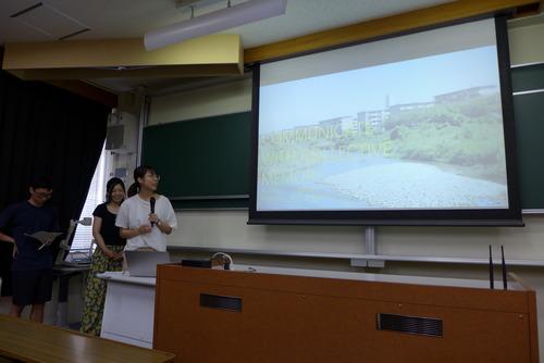 20190725学府「芸術・文化環境論」プロジェクト演習発表会を開催!!