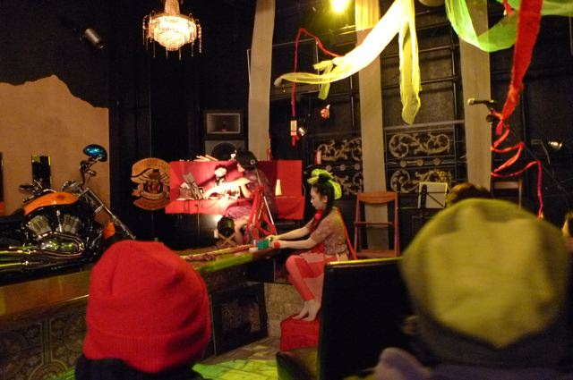 平山等子さん出演、乱歩ナイト第二夜。