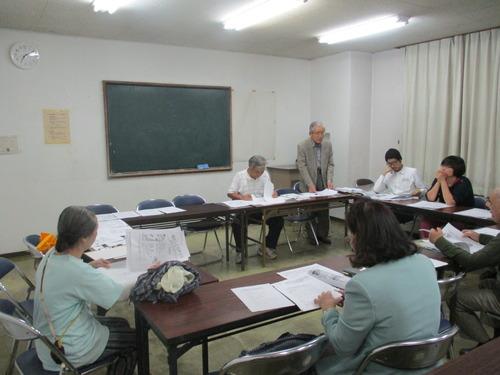菊池の図書館を考える市民の会10月例会に行って来ました。2015.10.16(金)