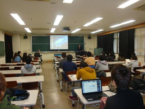 海外FWの授業始まりました。2013.4.18