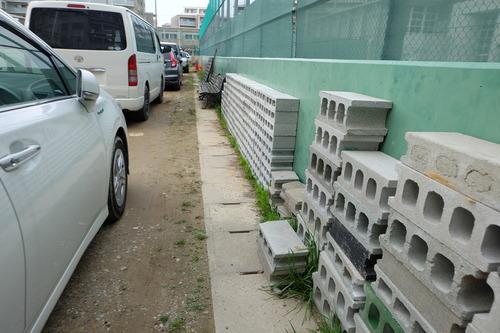 3月11日(金)ふ印ラボの店じまいはコンクリートブロック手作り書棚を解体!!