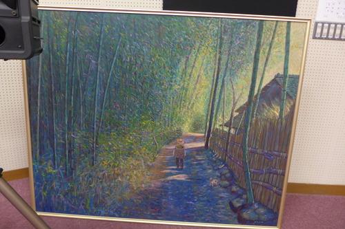 ふ印ラボは、菊池恵楓園絵画サークル金陽会作品調査を継続的に支援しています!