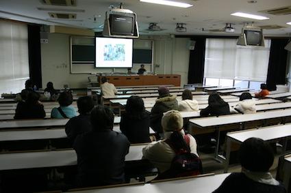 11月21日(土)九大大橋キャンパス芸工祭にてTienさんの講演会が開催されました!!