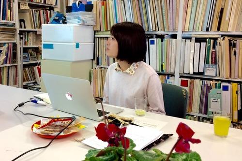 定例ゼミにて國盛さん博士論文の予備審査に向けた特訓!2016.11.15(火)
