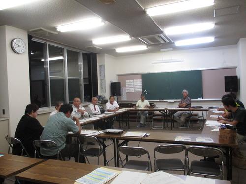 第5回下浦フィールドワーク勉強会が下浦コミュニティセンターで開催されました。2015.8.27(木)