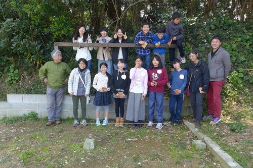 桧原シュタイナー土曜学校新6年生の「家づくり」はじまり!