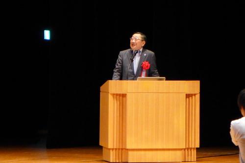 福岡国際会議場で開催された日本コンクリート工学会での特別講演は、JR九州社長青柳俊彦氏、九大藤原惠洋教授!