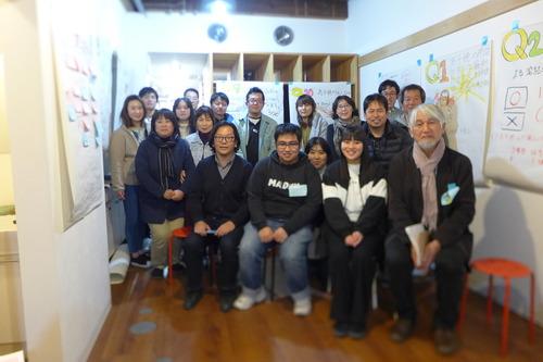 2019.0113ふ印ラボ卒論生脇元孝太くん、卒業研究のいっかんとして「高千穂の未来を考えるワークショップ」を開催!