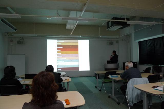 公開講座「建築の初源を探る」ゲスト講師高木正三郎先生。