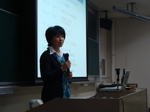 2011.5.23.ゲスト講師三浦浩子さんの見る「やねだんアートプロジェクト」
