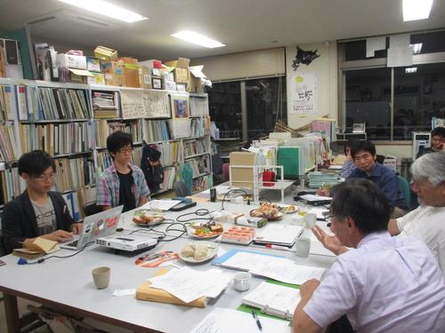 7月4日(火)ふ印ラボ(九州大学藤原研究室)第12回定例ゼミ開催 2017.7.4