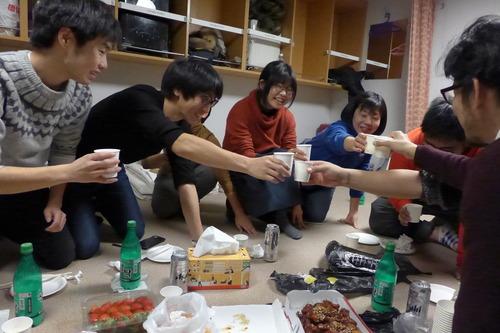 ふ印ラボ第23次韓国フィールドワーク敢行!フェリーかめりあの夜、参加者群像その3夜なべ談義に見るメンバーシップ